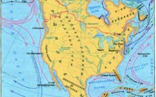 Северная америка. географическое положение, история открытия — студенческий портал