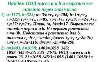 Нод и нок двух чисел, алгоритм евклида — студенческий портал