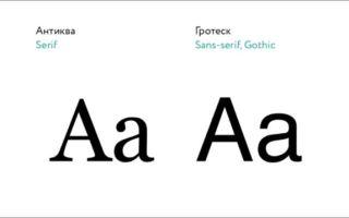 Основы работы со шрифтом в графической среде — студенческий портал