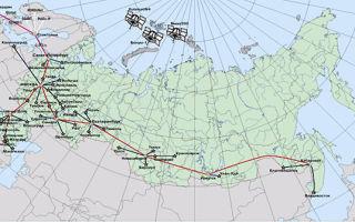 Россия на карте мира — студенческий портал