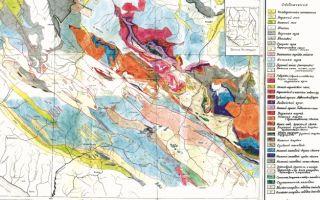 Геологическое строение и рельеф кавказа — студенческий портал