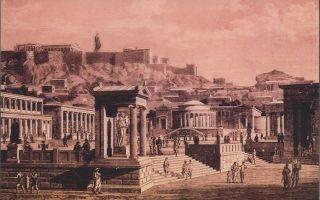 Греческий полис как социально-политический организм — студенческий портал