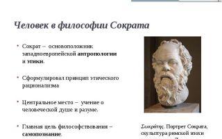 Проблема человека в истории философии — студенческий портал