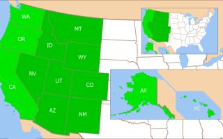 Регионы северной америки — студенческий портал
