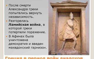 Распад державы александра 324–301 гг. до н. э. — студенческий портал