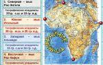 Географическое положение и история исследования африки — студенческий портал