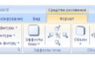 Работа с графическими объектами в текстовом процессоре ms word — студенческий портал