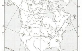 Геологическое строение и рельеф северной америки — студенческий портал