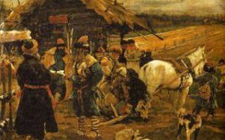 Последствия закрепощения крестьян — студенческий портал