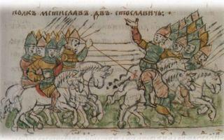 Борьба с кочевниками на руси — студенческий портал