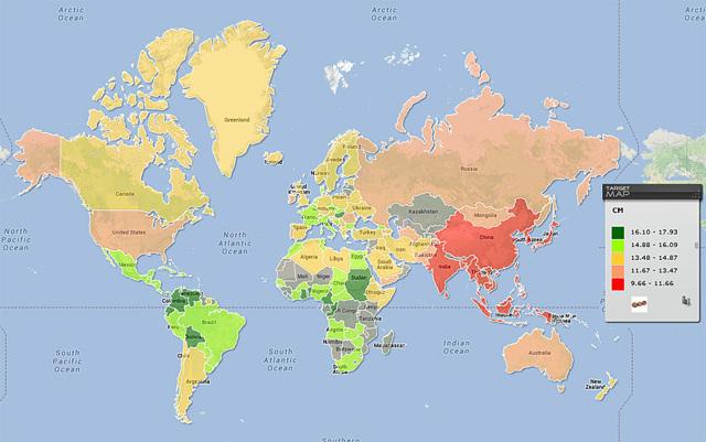 Географическая карта - Студенческий портал