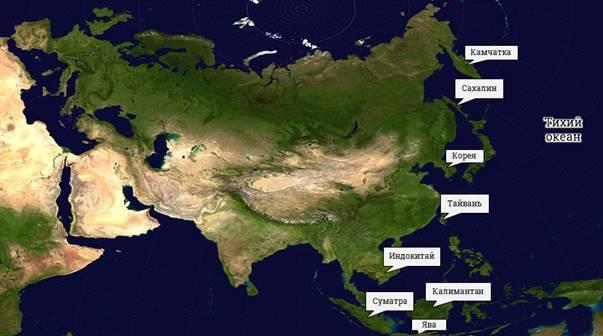 Материк Евразия. Географическое положение материка, история исследования - Студенческий портал