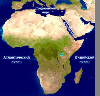 Материк Африка - Студенческий портал