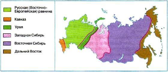 Восточно-Европейская равнина, географическое положение - Студенческий портал