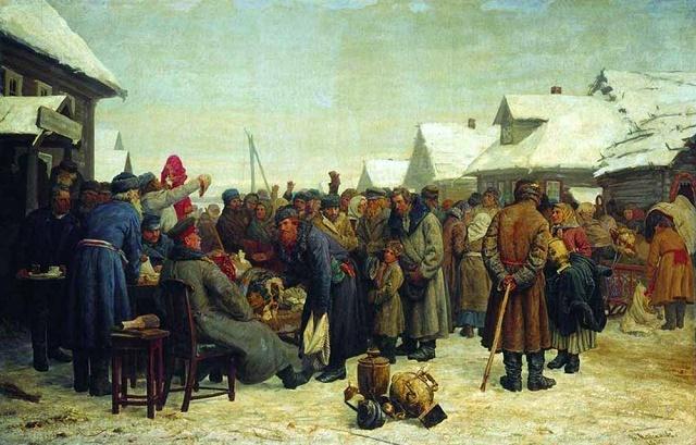 Этапы развития крепостного права в России - Студенческий портал