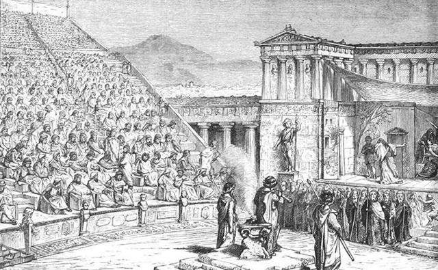 Древнегреческие театры - Студенческий портал