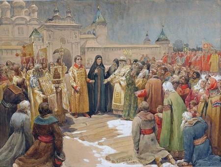 Земский собор 1613 г. Избрание нового государя - Студенческий портал