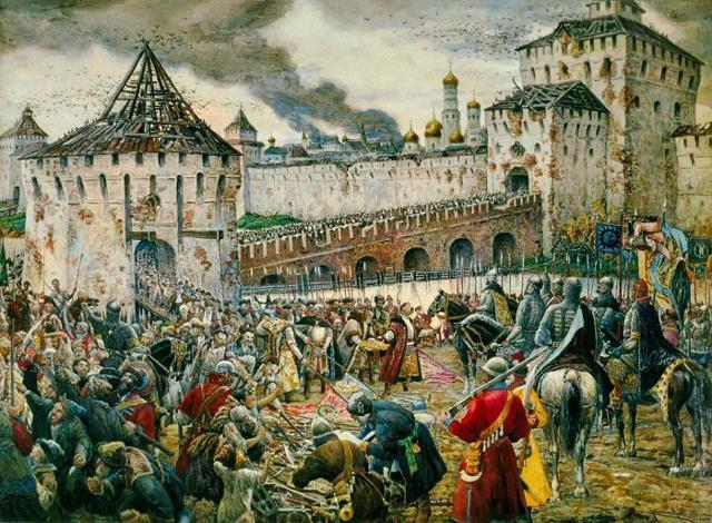 Церковь в условиях феодальной войны - Студенческий портал