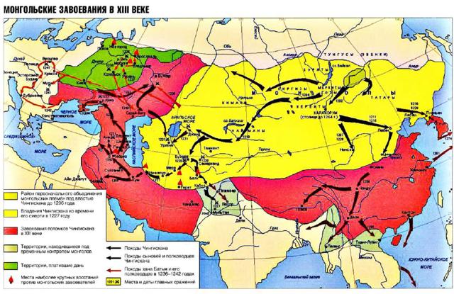 Монгольское нашествие на Русь - Студенческий портал