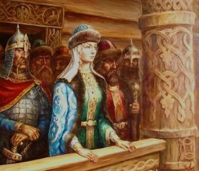 Княгиня Ольга - Студенческий портал