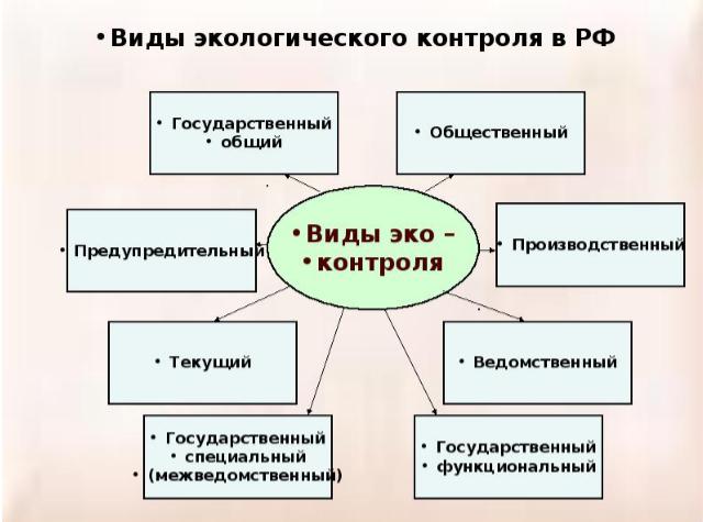 Основные задачи и виды экологического надзора - Студенческий портал
