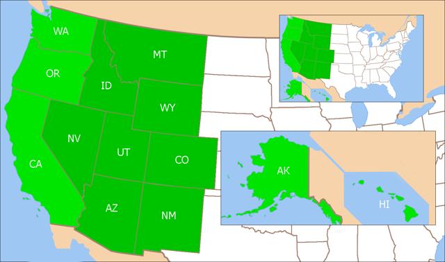 Регионы Северной Америки - Студенческий портал