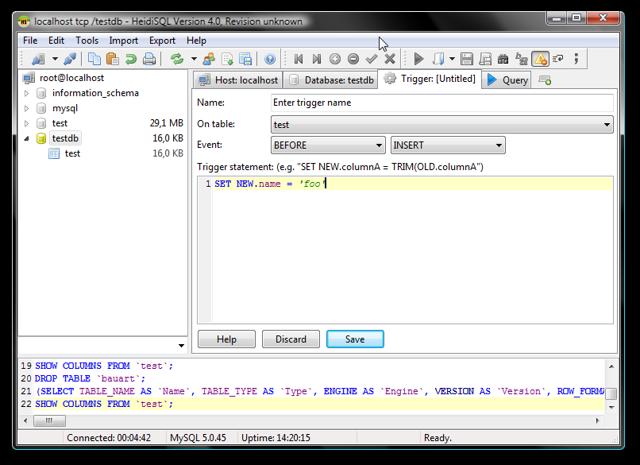 Подключение MySQL с помощью клиента HeidiSQL - Студенческий портал