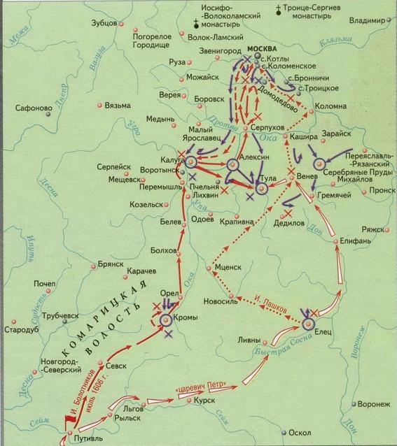 Восстание И.И. Болотникова - Студенческий портал