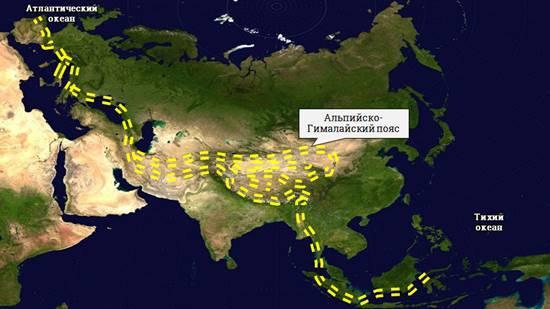 Геологическое строение и рельеф Евразии - Студенческий портал