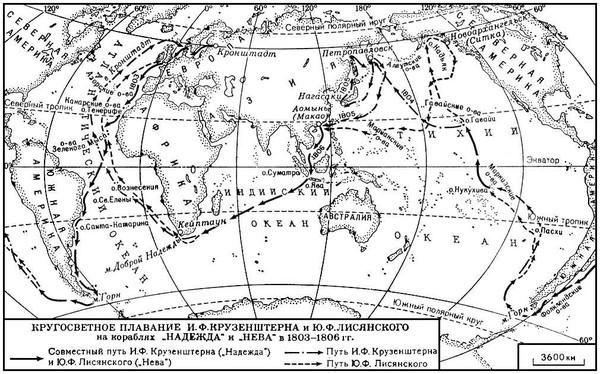 Кругосветные путешествия начала 19 века - Студенческий портал