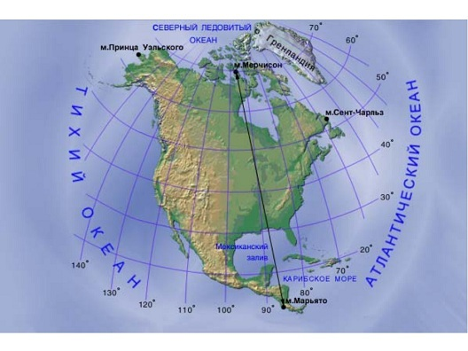 Климат Северной Америки - Студенческий портал