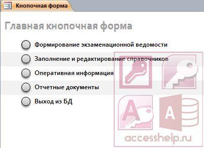 Пример проектирования БД учебной части - Студенческий портал