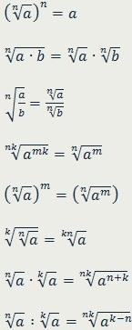 Арифметический корень натуральной степени - Студенческий портал