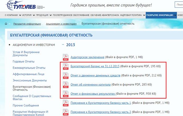 Раскрытие информации о финансовых вложениях в бухгалтерской отчетности - Студенческий портал