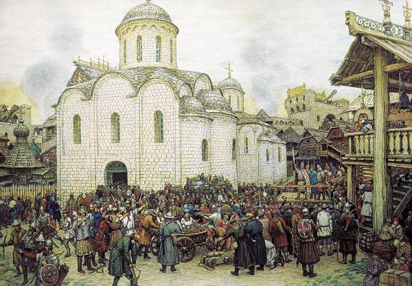 Последствия нашествия Тохтамыша - Студенческий портал