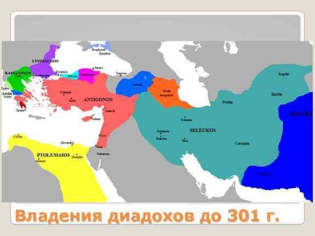 Распад державы Александра 324–301 гг. до н. э. - Студенческий портал